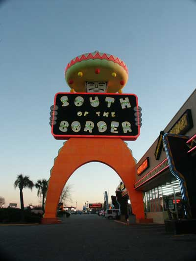 South Of The Boarder
